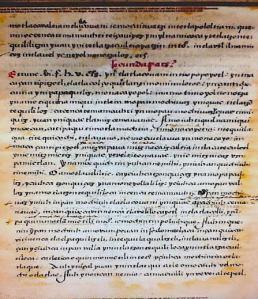 Introducción Sermonario en lengua mexicana. Biblioteca Nacional de México