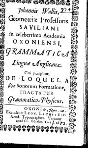 Wallis Grammar