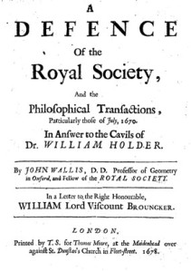 Wallis Pamphlet