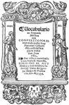 Arte de la lengua de Michuacán de fray Maturino Gilberti 1558