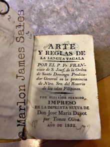 In the course of my research, I found in the State Library of Victoria a copy of the third edition of Blancas' Arte