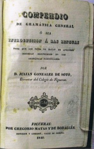 González de Soto 1840a: Portada