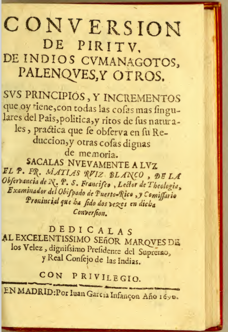 Blanco - title page