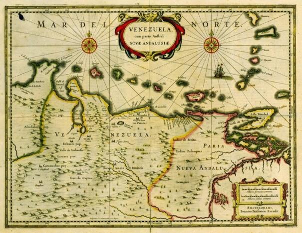 Johanes de Laet - Map