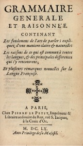 Title page of Porte Royale