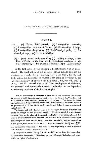Rawlinson Behistun report p195