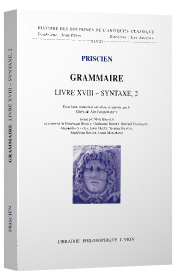 Book Cover: Priscian