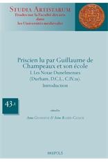 Book Cover: Priscien lu par Guillaume de Champeaux et son école