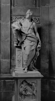 Monument to Sir William Jones, St Paul's Cathedral, London